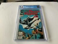 MARC SPECTOR MOON KNIGHT 1 CGC 9.8 WHITE PAGES BUSHMAN APP MARVEL COMICS D