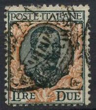 ITALIA 1917-23 SG n. 111, 2L MIRTILLO USATO #D 8853