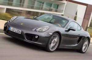 Porsche Cayman and 911 Wheel Nut Covers / Lug Nut Covers - Chrome