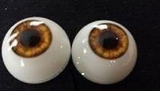 20 mm Hazel Pabol Reborn Doll Eyes  Acrylic Half Round,FAST SHIPPING!!!!
