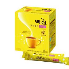 Korean Instant Coffee Mix maxim Mocha Gold Light Low Sugar 11.8g*50-50 sticks