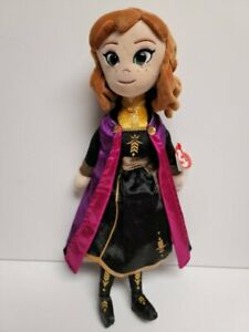 """Ty Sparkle Disney Frozen ll  Anna- NEW MWMT Stuffed Doll 16""""-Beautifully Crafted"""