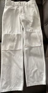 Youth Large White Under Armour Baseball Pants