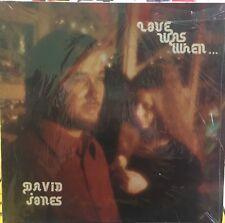 DAVID JONES Love Was When Private Press Gospel VG+ LP