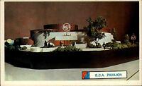 New York Amerika USA US AK ~1961-63 World Fair Weltausstellung R.C.A. Pavillion