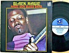 CHICAGO BLUES LP: MAGIC SAM'S Blues Band BLACK MAGIC Delmark DS-620 1st cover