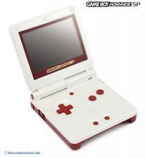 Nintendo GameBoy Advance - Konsole GBA SP + Stromkabel #Famicom Color Edition