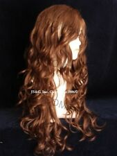 Dazzling LONG spiral WAVY Curly WIG Medium Auburn 30 JSOB