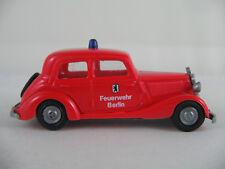 """Praliné mercedes-benz 170 V Limousine (1946) """"bomberos Berlin"""" 1:87/h0 nuevo/unbesp."""