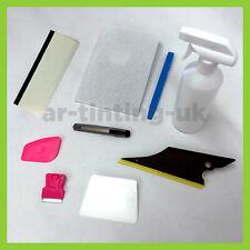 Semi-Pro Car Window Tint Fitting Kit - window Tinting Tool kit - 9x Film Tools