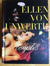 SIGNED Ellen Von Unwerth COUPLES First Edition W/ 2 Photo Print Invitations!!