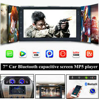 "7""Screen Radio GPS Navigation Bluetooth USB W/Reversing Car Android MP5 Player"