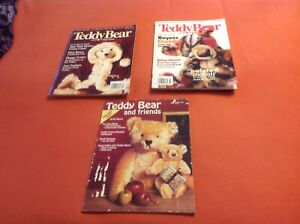 Teddy bear and Friends magazine 3 issues