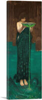 ARTCANVAS Circe Invidiosa 1892 Canvas Art Print by John William Waterhouse