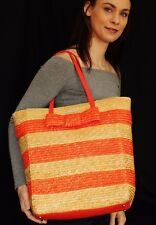 Kate Spade James STRAW WICKER BOW BRIDGE TRAVEL BAG Handbag Bag Tote $478