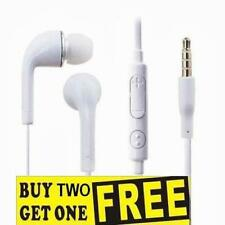 Headphones Earphones Headset With Mic Samsung Galaxy S3 S4 & iPod iPhone Phones