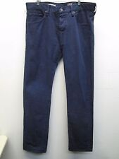 Adriano Goldschmied the Matchbox Slim straight blue pants/jeans size 36 (38) EUC