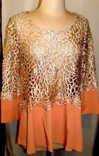 GRACIA BEIGE & TAN LASER DESIGN CUTTING TOP SIZE SM, MED, LG