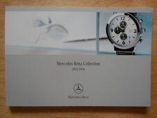 MERCEDES BENZ ACCESSORIES orig 2003-04 UK Mkt 100 page prestige brochure