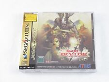 Sega Saturn Sol Divide Never Played Collectible New Japan NTSC-J