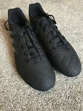 Addidas Black Football Boots Size 11 - New, No Box