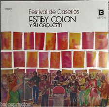 RARE salsa LP ESTIBY COLON Y SU ORQUESTA festival de caserios BORINQUEN RECORDS