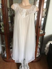 Vintage Val Mode Nightgown White Color Small