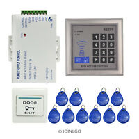 125 khz Rfid Door Access Control System Kit + 10 RFID keys + RFID Reader Keypad