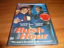 Rush Hour (DVD, 1999, Widescreen) Jackie Chan, Chris Tucker NEW