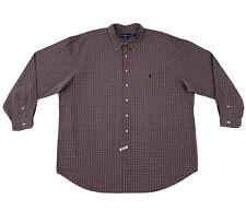 Polo Ralph Lauren Dress Shirt Mens 3XLT Plaid Long Sleeve Button Down