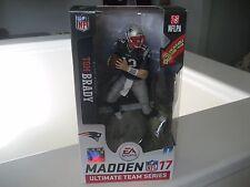 TOM BRADY Madden NFL 17 McFarlane EA Sports Ultimate Team Patriots