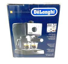 DeLonghi EC155M Cappuccino Maker and Manual Espresso Machine New Open Box Black