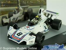 BRABHAM BT44B RACING CAR MODEL 1:43 SIZE FORMULA ONE 1 IXO PACE 1975 MARTINI T3