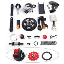 NEW 350W 24V Electric Bicycle Mid-Drive Motor Conversion Kit Refit E-bike Parts