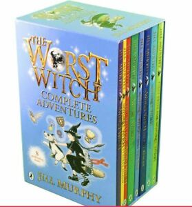 The Worst Witch 8 Books Collection Box Set Gift Pack Set  Jill Murphy