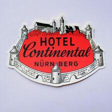 "#2961 Hotel Opal Paris France Luggage Label Vintage Travel 3x2/"" DECAL STICKER"