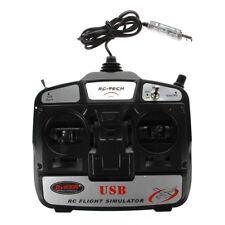 6CH USB-3D RC Hubschrauber-Flugzeug Flug Simulator G5C1 I5Y7