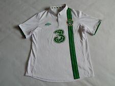 "REPUBLIC OF IRELAND FOOTBALL EURO 2012 AWAY SHIRT JERSEY ,MENS 46"" XL"
