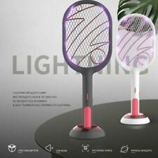 QuashPest 2.0 Rechargeable USB Electric Mosquito Swatter Insect Fly Handheld
