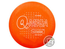 New Millennium Quantum Omega 166g Orange White Stamp Putter Golf Disc