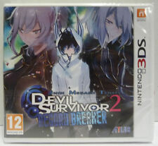 SHIN MEGAMI TENSEI DEVIL SURVIVOR 2 RECORD BREAKER - NINTENDO 3DS - NUOVO NEW
