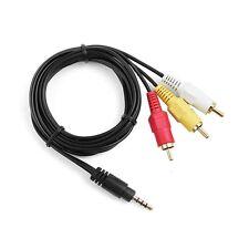 AV A/V TV-Out Cable Cord Lead For Sony DCR-PC101 DCR-PC100 HDR-FX1 e DCR-HC15 e