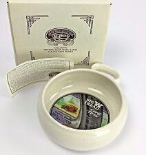 NOS Watkins Heritage Soup Bowl Coffee Mug Stoneware Mens Big W Tread Cord Tires