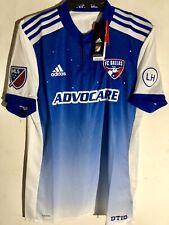 Adidas Authentic MLS Jersey Dallas FC Team Blue sz M