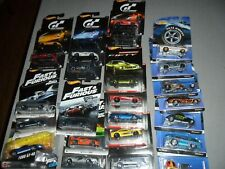 25 LOT HOT WHEELS REALRIDERS FAST FURIOUS FIFTY GRAN TURISMO NISSAN SKYLINE BMW+