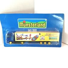 GRELL HO 1/87 Truck Trailer Munsterland Germany New in Package