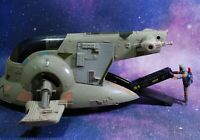 VINTAGE STAR WARS COMPLETE BOBA FETT'S SLAVE 1 VEHICLE KENNER one ramp Han Solo