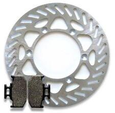 Kawasaki Rear Brake Rotor + Pads KX 125 KX 250 KDX 200 (89-94) KX 500 (89-95)