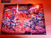 Checklist Poster  Core Set World of Warcraft WOW Miniatures Game