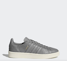 NEW Women's Adidas Campus Shoes Color: Gray Size: 10